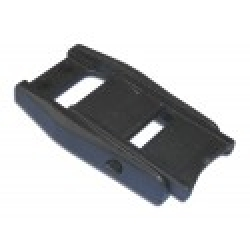 Plastic over centre euro buckle