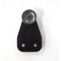 STEEL WHEEL PLASTIC ROLLER DIAMETRE 36MM / ACROSS WHEELS 28MM